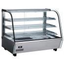 Vitrină caldă pentru expunere produse patiserie RTR 160L resigilat