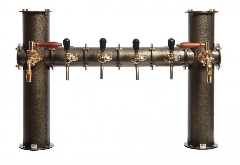 Coloană de bere pentru 5 robineți   TC Oltec Bridge