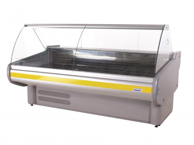 Vitrină frigorifică orizontală cu geam curbat (linia Market)   WCH IM 1,3/1,2