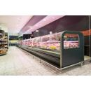 LCCT Catania 1,25 - Refrigerated counter with telescopic front glass