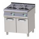 Friteuză dublă pe gaz, pe suport (produs resigilat) | FE 780/15 G