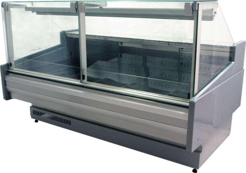 WCH LUX PR 1.3/1.2 S | Counter with curved glass on telescopic system