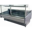 WCH LUX PR D | Counter with curved glass on telescopic system