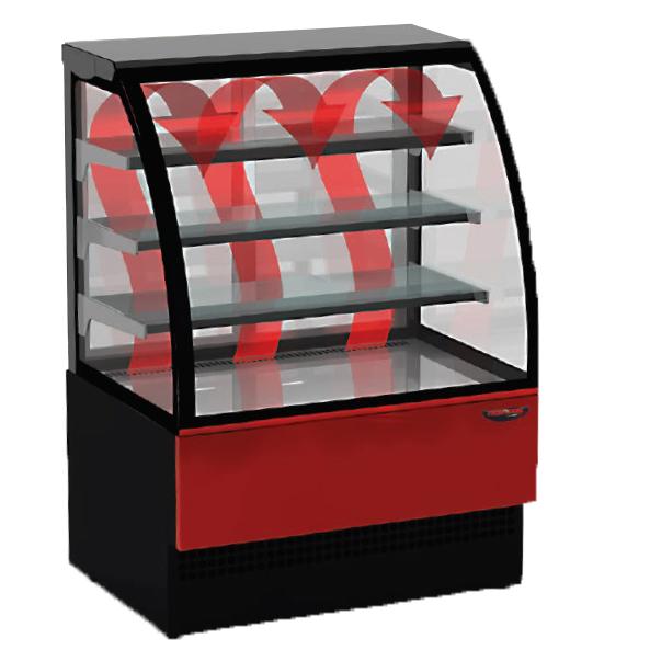 EVO HOT - Heated display counter