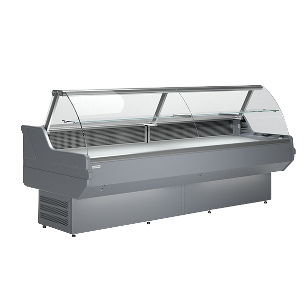LCD Dorado 1,2 Counter with curved glass