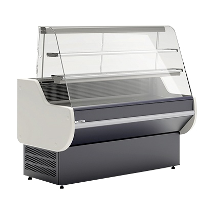 LCG Gemini SL H 1,0 - Counter with curved glass