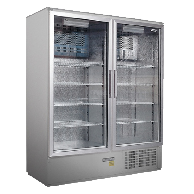 CC 1600 GD INOX (SCH 1400 S) - Glass door cooler