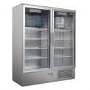 Vitrină frigorifică verticală dublă | CC 1600 GD INOX (SCH 1400 S)