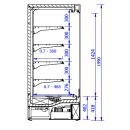 GRANDIS 1.25 - 0.7 | Hűtött faliregál
