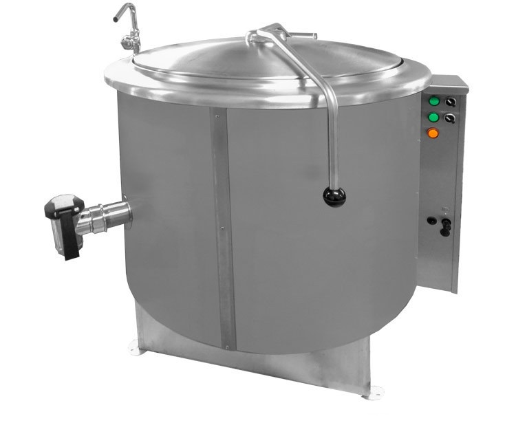 RKG-200 | Gas fixed cilyndrical boiling Pan
