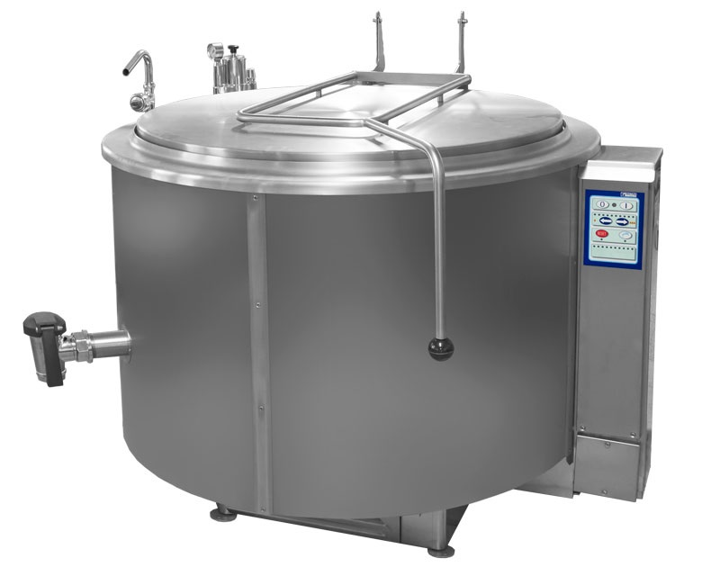 RKG-301 | Gas fixed cilyndrical boiling Pan