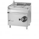 GBS80.98   Gas Braising pan with carbon steel bottom