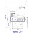 TEMIS LIFT 0.94 | Refrigerated counter