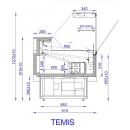 TEMIS 0.94 | Refrigerated counter