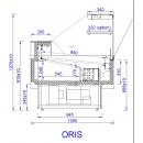 ORIS 0.94 | Refrigerated counter