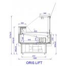 ORIS LIFT 0.94 | Refrigerated counter