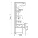 RCH 5 0.7/0.7 - Hűtött faliregál