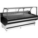 Vitrină frigorifică orizontală cu geam drept | L-1 MD/W/SP 100/110 MODENA