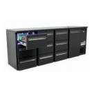 TC BBCL4-2222 (DCL-2222 MU/VS) | Bar cooler 4 solid doors