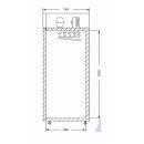 ECO C1400 - Kétajtós hűtőszekrény