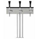 Coloană de bere cu 3 robineți și mâner din plastic | T Grand