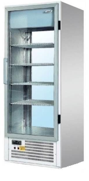 Vitrină frigorifică verticală | CC 635 GD+ (SCH 402) INOX