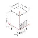 Mașină cuburi de gheață | SL 35
