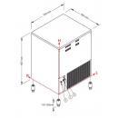 Mașină cuburi de gheață   SL 180