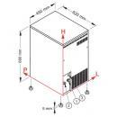 Mașină cuburi de gheață   SLT 100