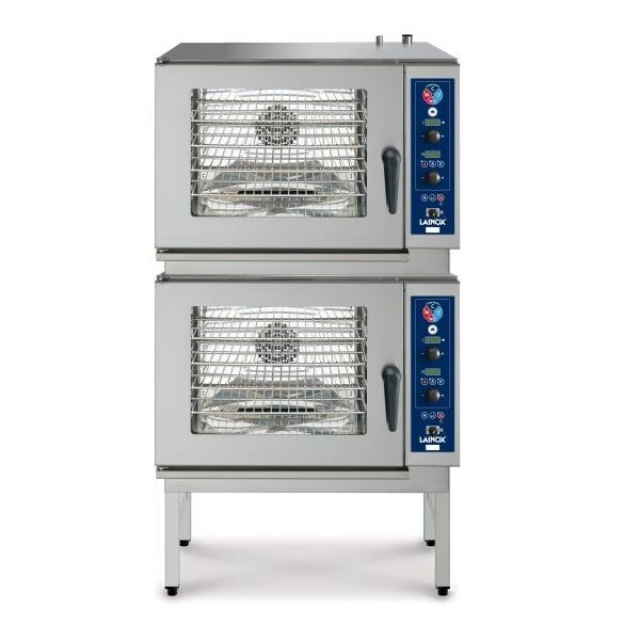SVE 055 electric direct steam combi ovens 5+5 x 1/1 GN