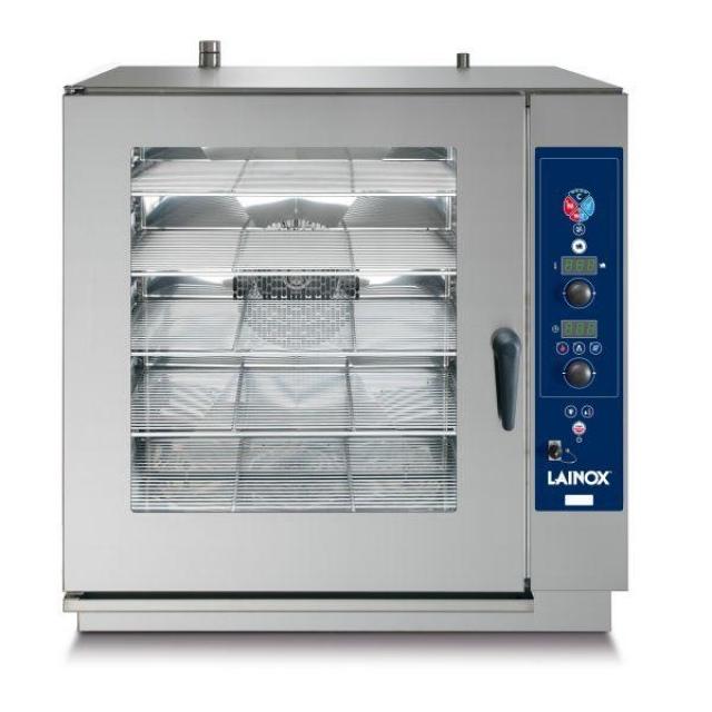 SVG A20 gázüzemű, direkt gőzbefúvású sütő-pároló 10 x 2/1 GN