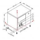 Mașină cuburi de gheață   IC 35