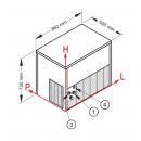 Modular ice cube maker | CM 350