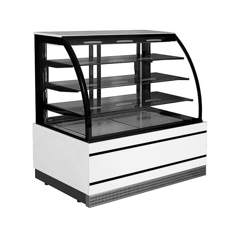 Vitrină frigorifică de cofetărie și patiserie | C-1 CL 60/CH CARMELLA