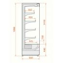Refrigerated wall cabinet | RCS Scorpion 66.199 1,0