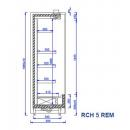 RCH 5 REM - 0.7 - Refrigerated shelf