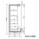 RCH 4 REM - 1.0 - Refrigerated shelf