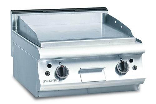 Grătar pe gaz cu suprafața netedă | 6IG 200P