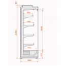 Refrigerated wall counter | RCH Hercules 66.206 1,25