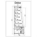 R-1 DC 110/80 DOLCE - Refrigerated wall counter
