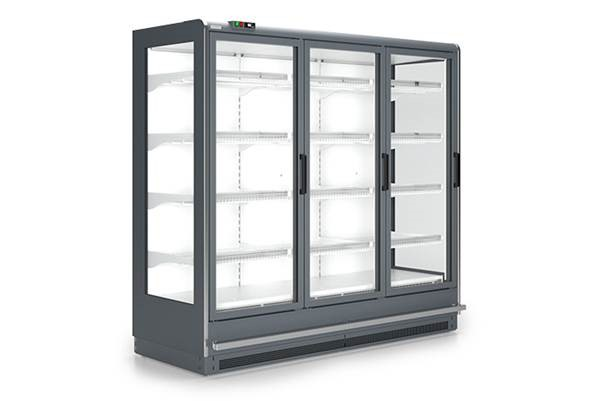 Refrigerated wall cabinet with 2 doors | SCI INDUS 03 2D [1,56]