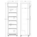 SD 420 E | Glass door cooler