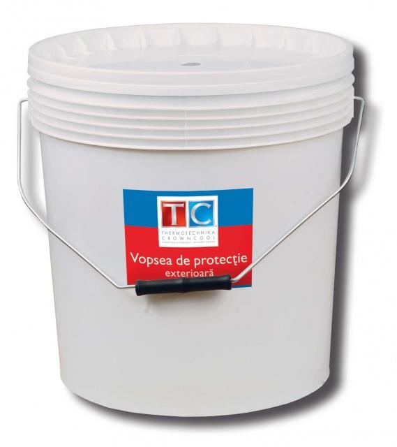 Vopsea de protectie exteriora, ProZink 2000, 5 kg, gri