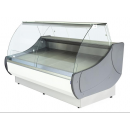 Refrigerated counter with curved glass   WCh-7/1 3,06 OFELIA (V)