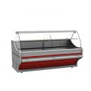 Vitrină frigorifică orizontală cu geam curbat | WCh-6/1B-2,5/1,1 WEGA (V)