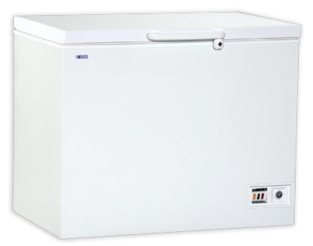 Chest freezer with solid top door   UDD 460 BK