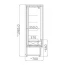 RCH 5D - 0.9 Refrigerated wall counter
