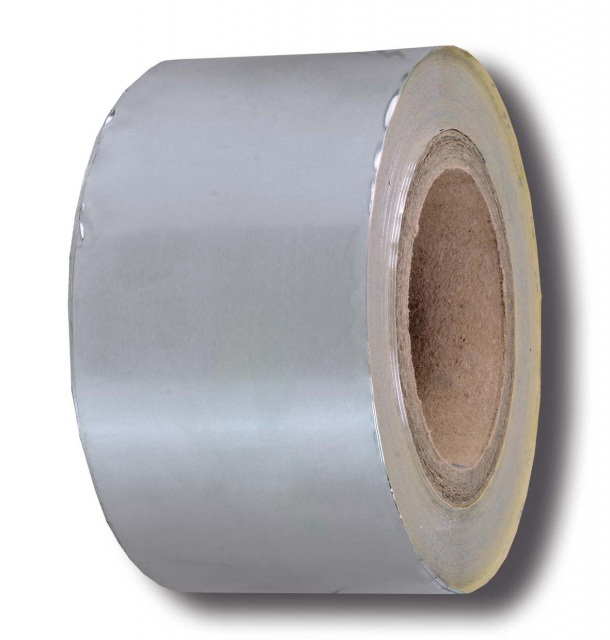 Seladhesive duct tape, 50 micron, aluminium