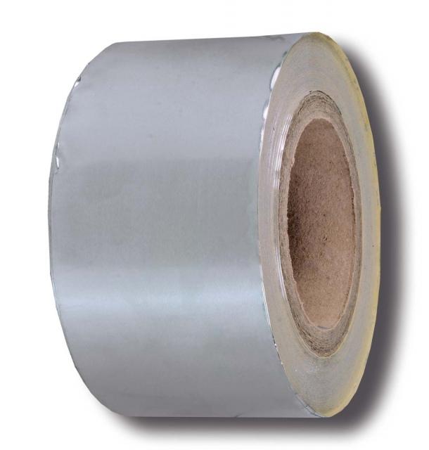 Selfadhesive duct tape, 50 micron, aluminium