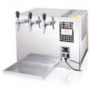 Răcitor de bere tropical cu 3 robineți | AS-110 INOX TROPICAL Green Line